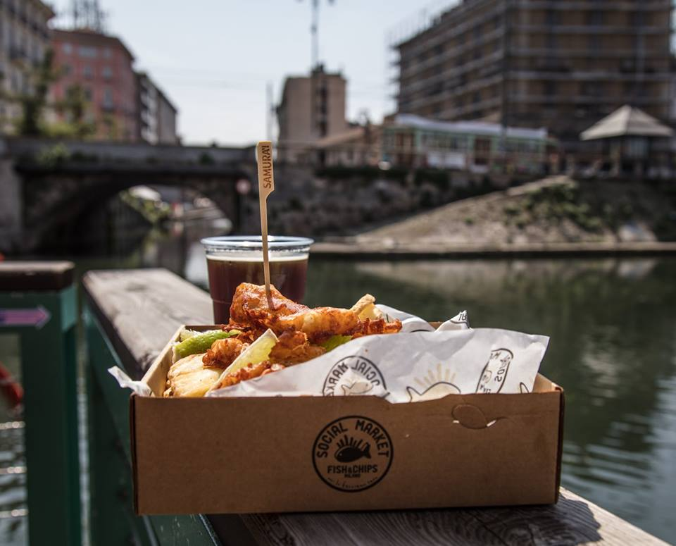 brand new e740d 70f05 Social market Fish&Chips a Milano: una novità in Darsena