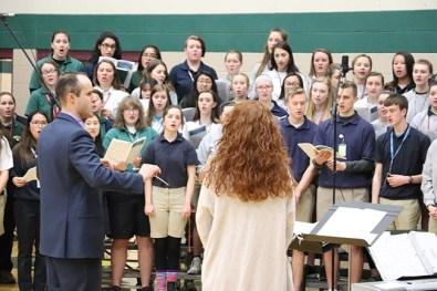 easter mass 2018 pius x catholic high school