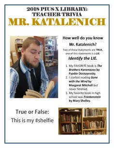 Katalenich, Mike book reading