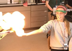 methane fire advanced chemistry