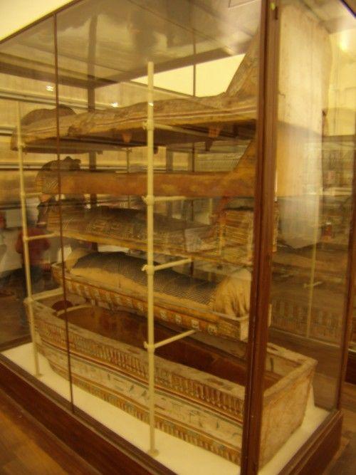 Museo Egizio Torino; vecchio allestimento