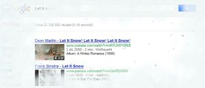 nevica in Google