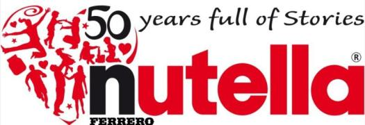 Nutella 50th Anniversary Logo