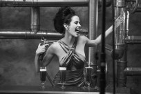 Eva Green seltz calendario Campari 2015