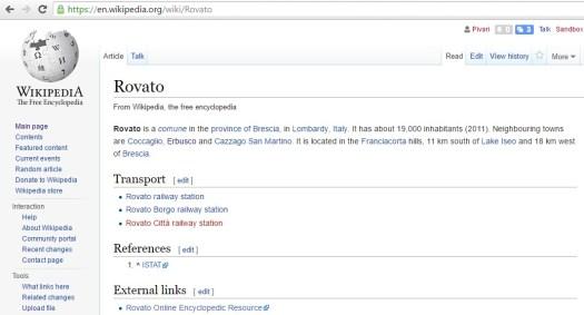 Rovato, Wikipedia, EN