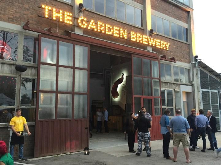 The Garden Brewery danju.