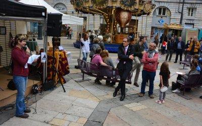 Beau succès pour l'inauguration de la Pive à Besançon ! Retour en images