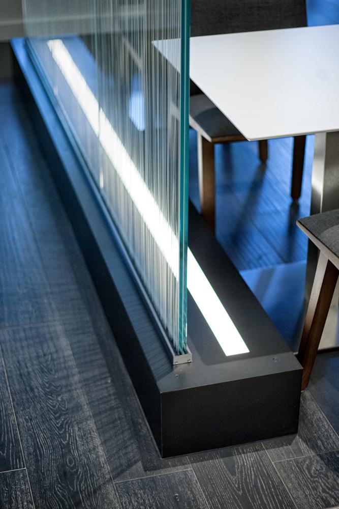 Blackened Stainless Steel Door Pivot