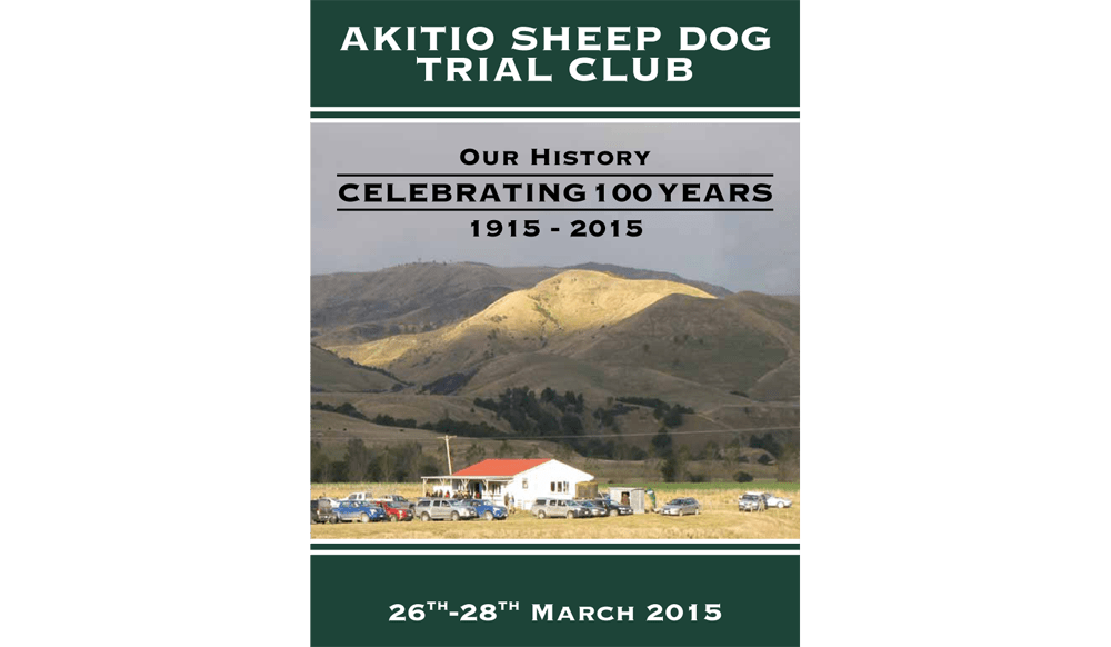Akitio Sheep Dog Trial Booklet