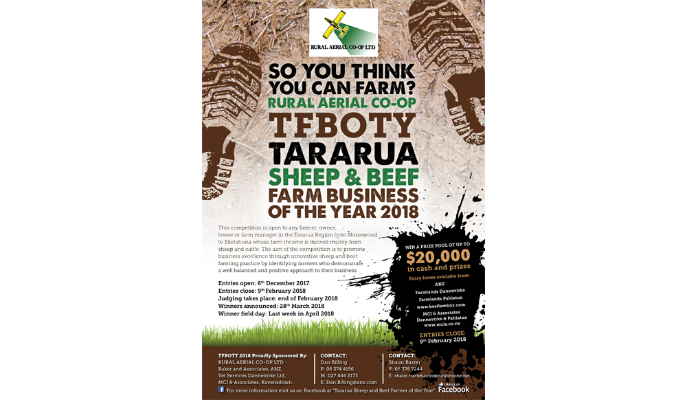 Tararua Sheep & Beef Farm Business of the Year
