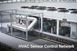 HVAC Sensor Control Network