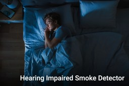 Hearing Impaired Smoke Detector