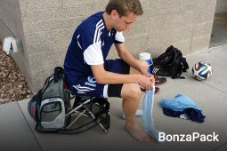 BonzaPack Sports Combination Bag and Chair
