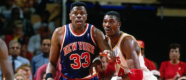 Fuente: www.nba.com Duelo de titanes, Ewing vs Olajuwon..para sentarse, cocacola y a disfrutar