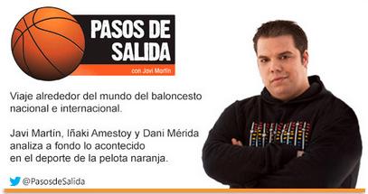 Javier Martin, director/presentador de Pasos de Salida