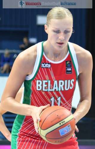 Fue te: www.womensbasketball-in-france.com Yelena Leuchanka