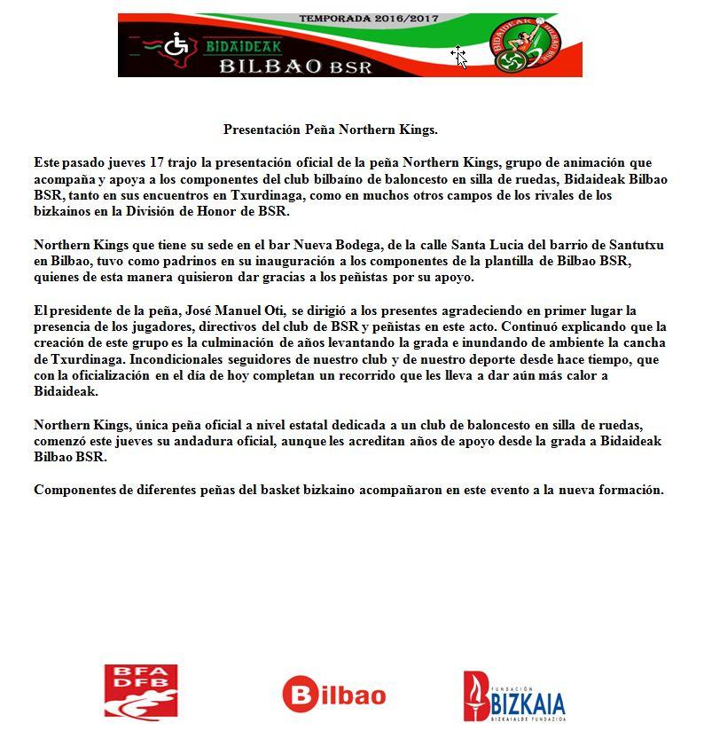 Nota de Prensa del Bidaideak bil