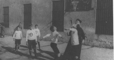padre millan,baloncesto