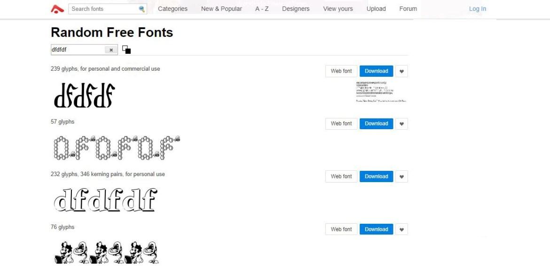 Abstract Fonts: font scaricabili e gratuiti