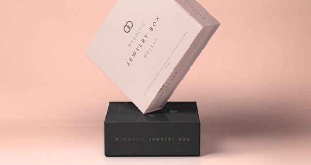 Psd Jewelry Magnetic Box Mockup Psd Mock Up Templates
