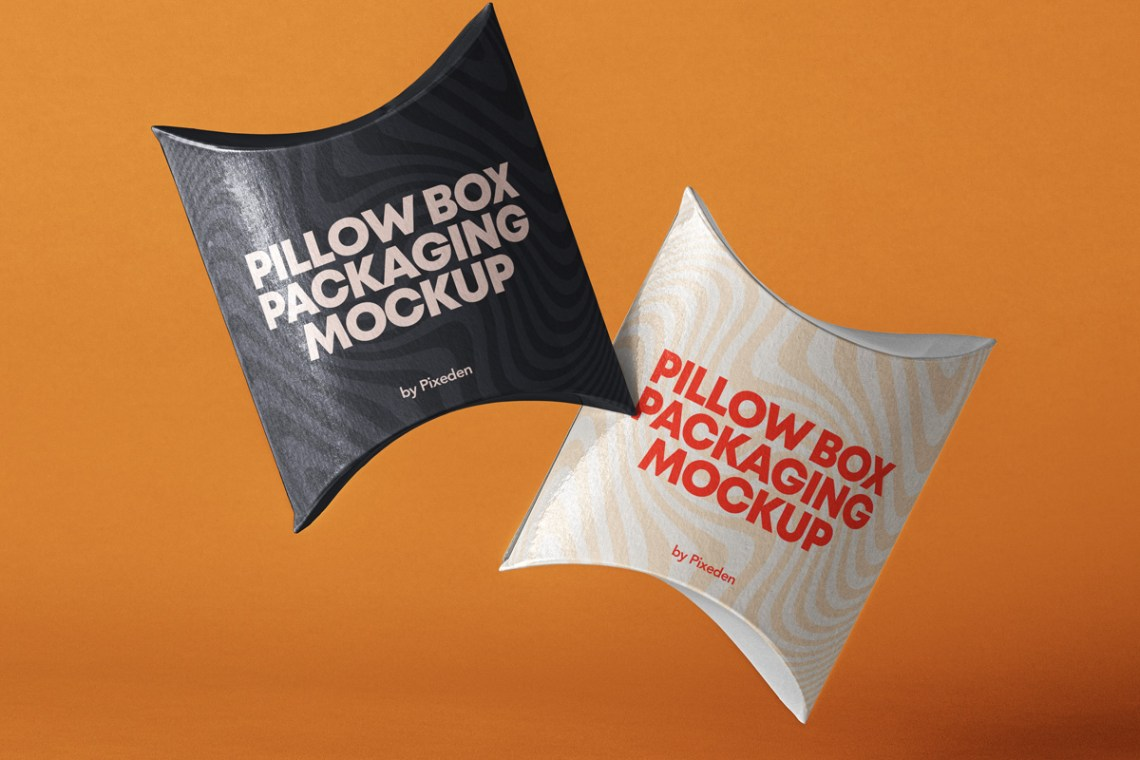 Download Psd Pillow Box Packaging Mockup 2 | Psd Mock Up Templates ...