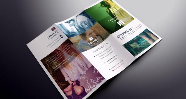 simple tri fold brochure template brochure templates pixeden