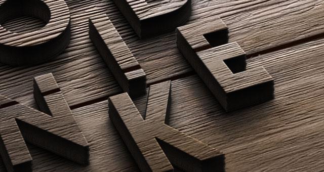 Wood Logo Mock Up Template Psd Mock Up Templates Pixeden