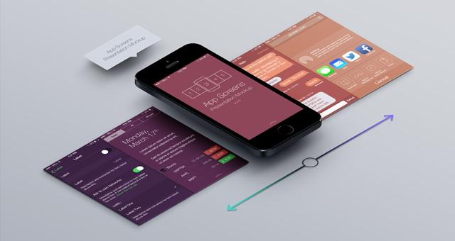 perspective app screens mock up 6 psd mock up templates pixeden