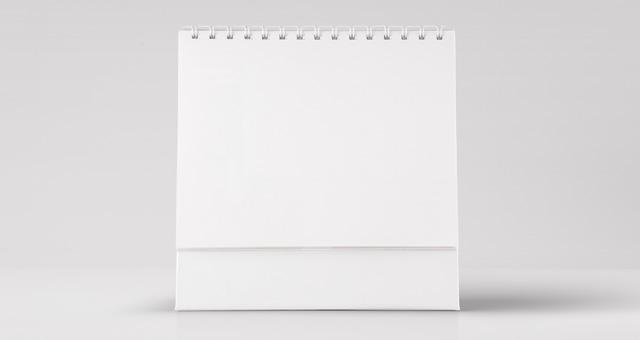 Desk Psd Calendar Mockup Vol2 Psd Mock Up Templates Pixeden