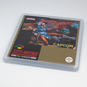 Street fighter 2 coaster