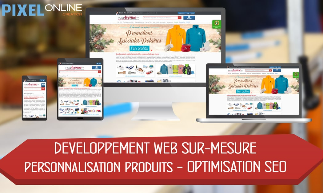 b40510fc403 Création site Internet E-commerce et référencement   PubAvenue