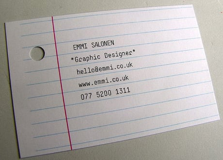 Creative & Unique Business Cards