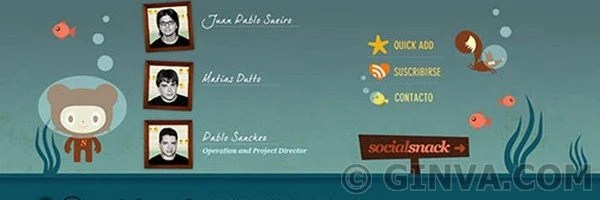 581 /> 88+ Creative Web Footer Design Showcase