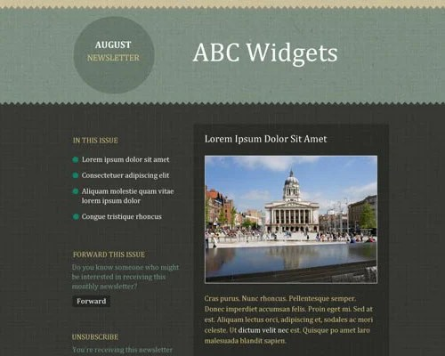 email template free abc widgets1