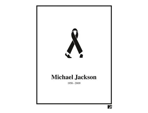 Black Ribbon Michael Jackson