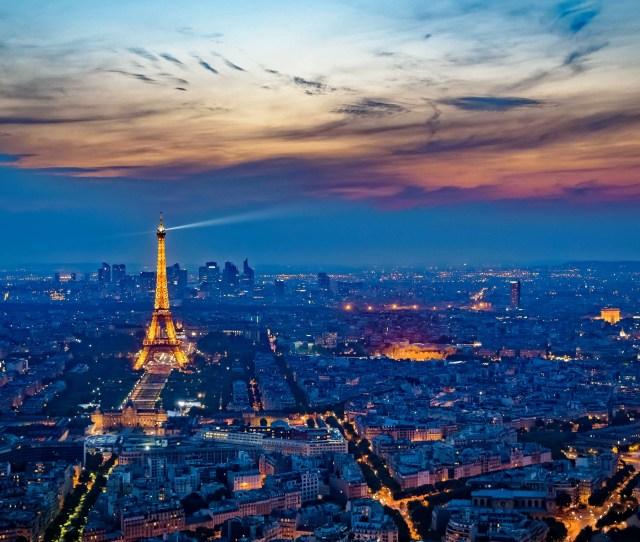 Eiffel Tower France City At Night K