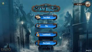 Mysterium - Menu