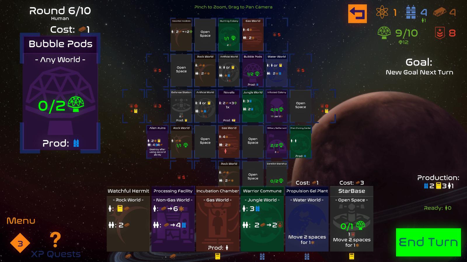 solar settlers - game 2