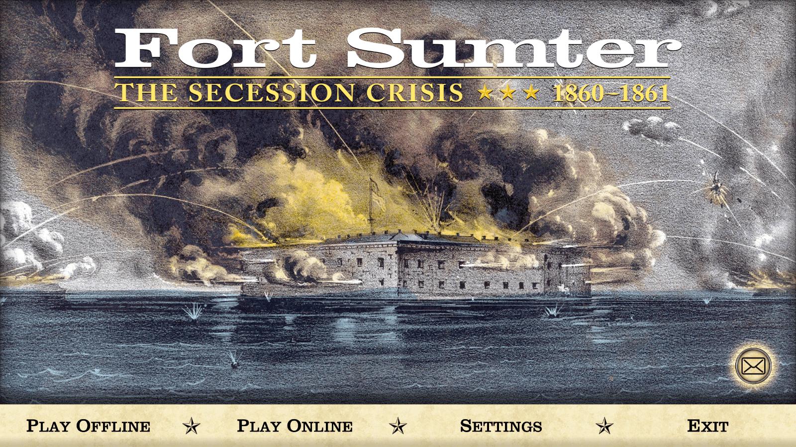 Fort Sumter - menu