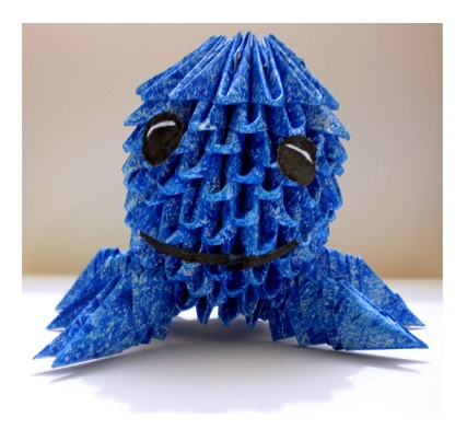 3D Origami Oswald the Octopus