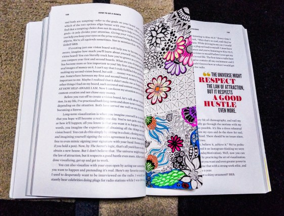 zentangle bookmark art ideas