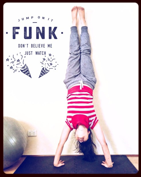 handstand - fitness - quote