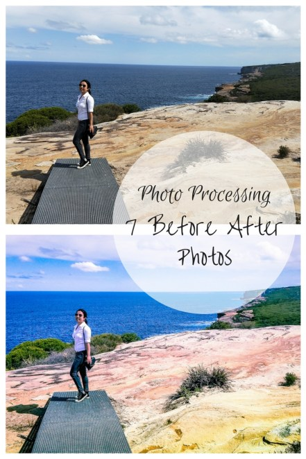 Before After Lightroom photo processing