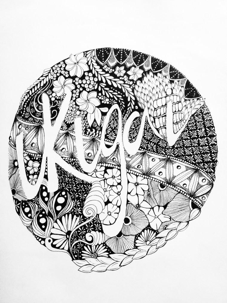 zentangle design