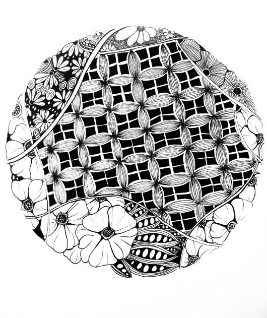 zentangle pattern artwork
