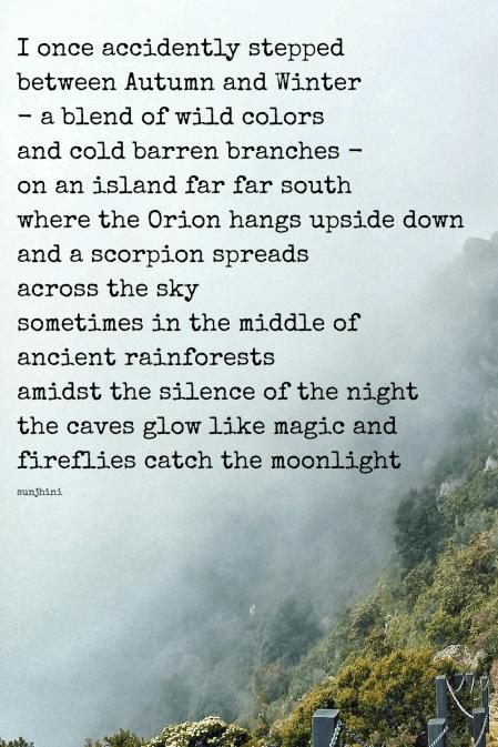 short travel poem