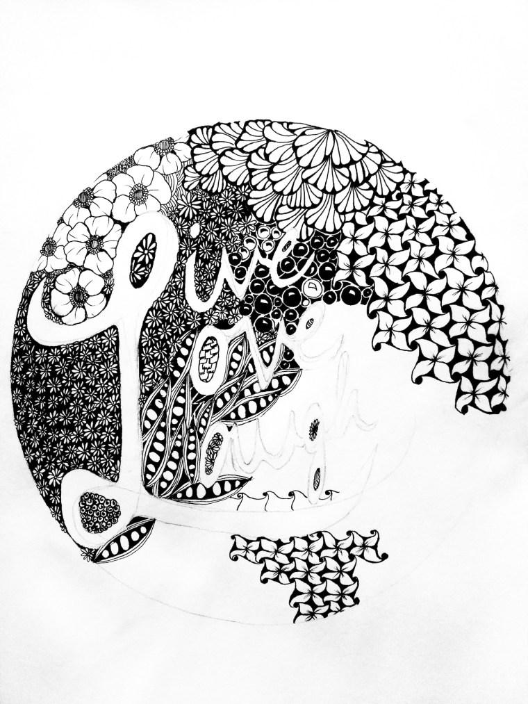 zentangle design artwork