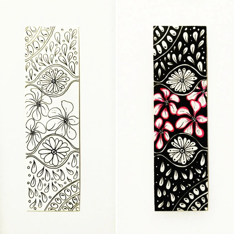 quick drawing ideas - zentangle artwork