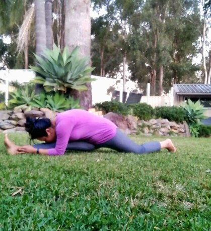 stretches for splits - journey to front splits