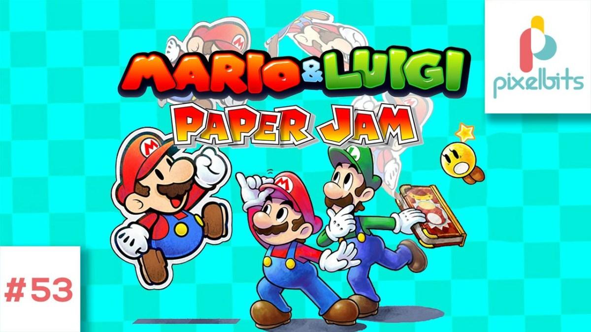 Reseña Mario & Luigi Paper Jam